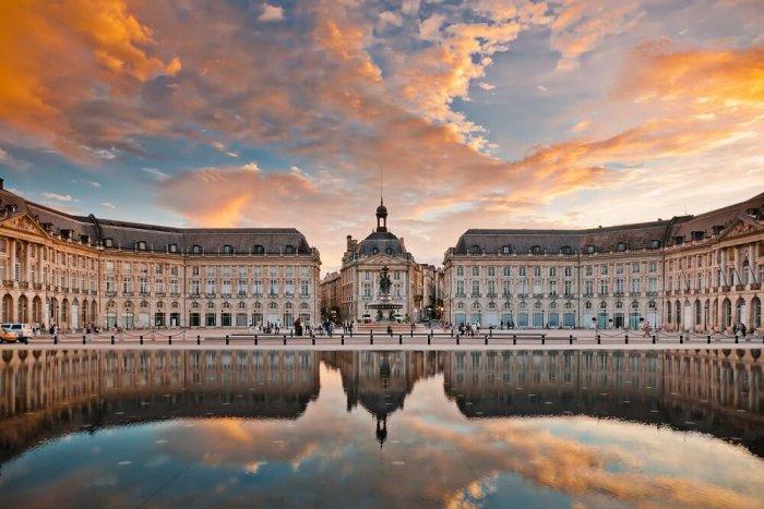 Palácio da Bolsa em Bordéus