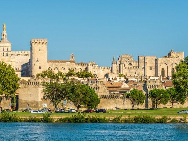Vista de Avignon