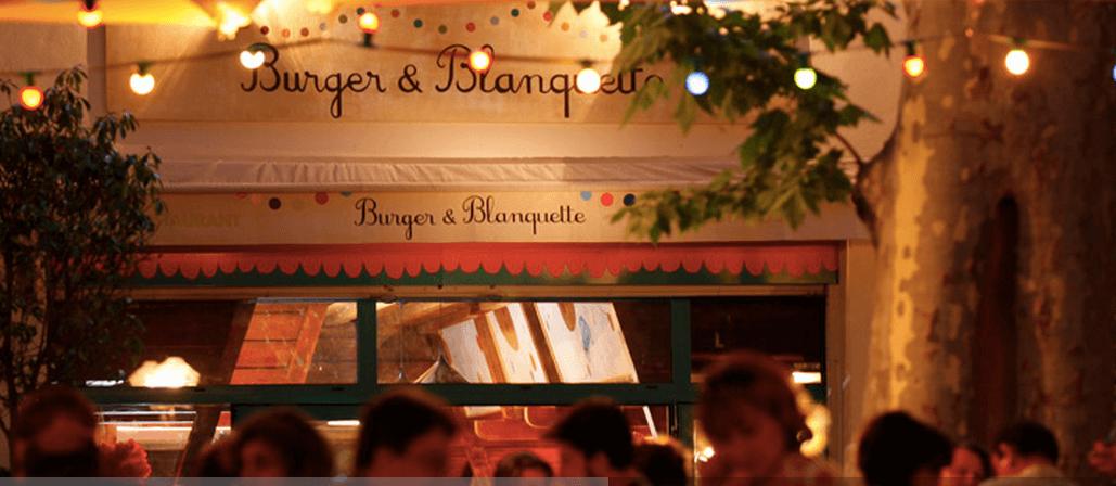 Hamburguer e Blanquette em Montpellier