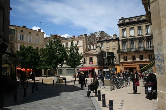 Place Fernand Lafargue em Bordéus