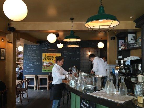 Restaurante Café du Commerce em Biarritz