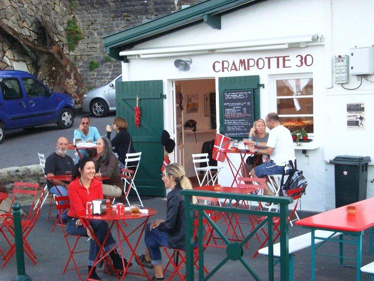 Restaurante Crampotte 30 em Biarritz