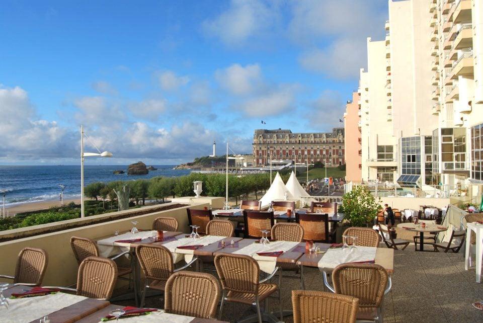 Restaurante Le Victoria em Biarritz