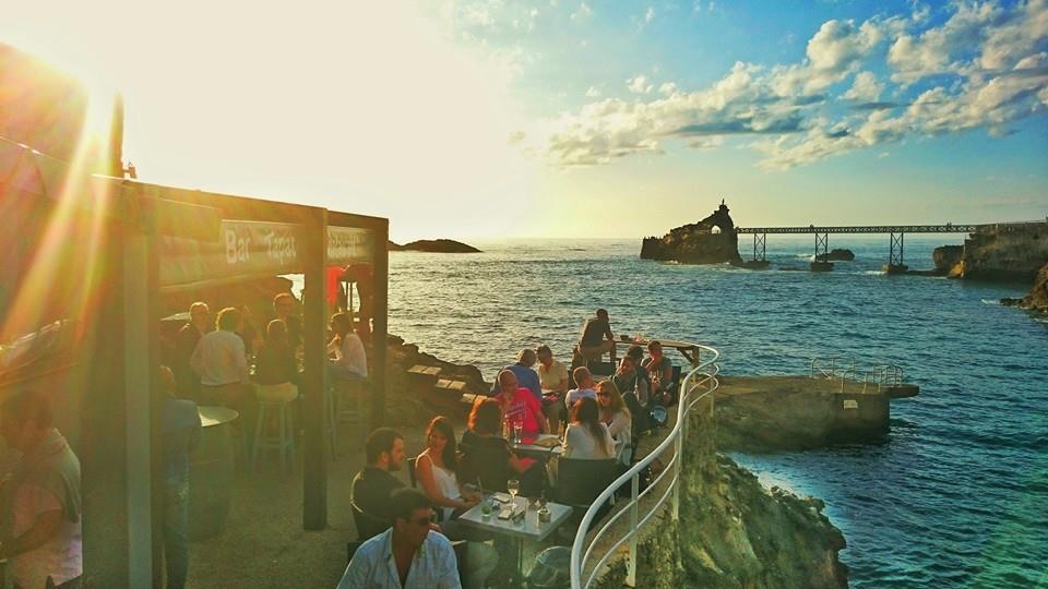 Restaurante Santa Maria em Biarritz