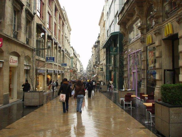 Rue Sainte-Catherine em Bordéus