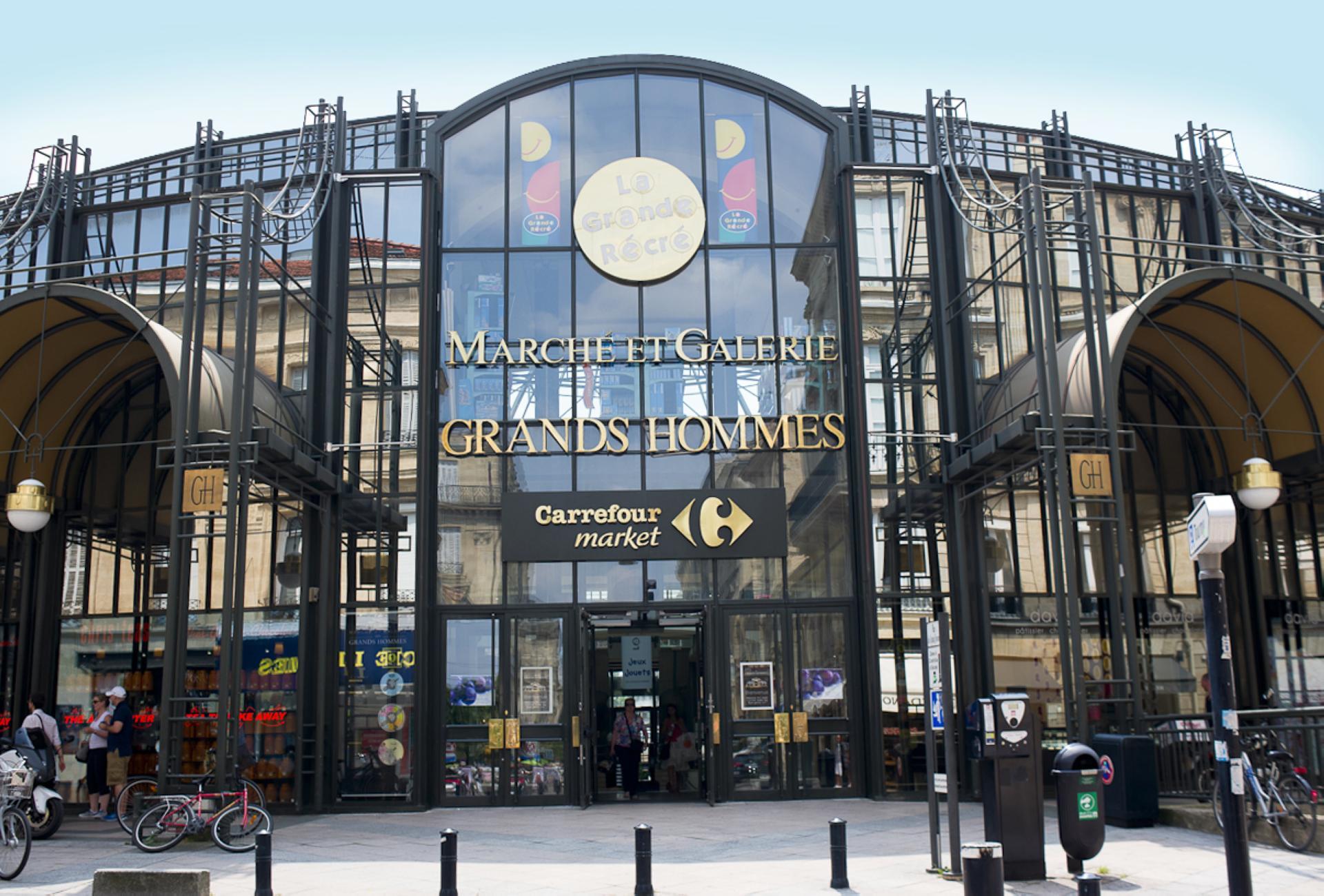 Shopping Grands Hommes em Bordéus