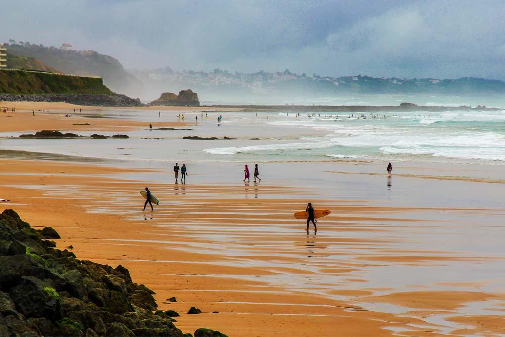 Surf em Biarritiz
