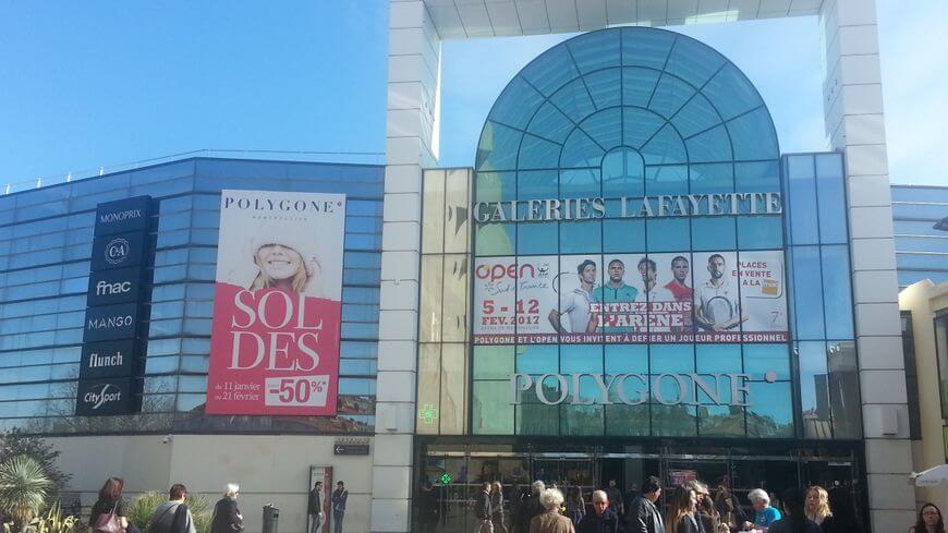 Polygone em Montpellier