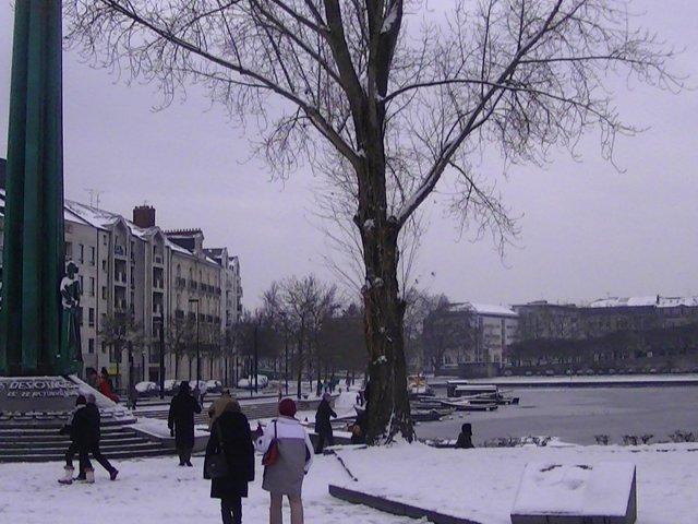 Clima e a temperatura em Nantes