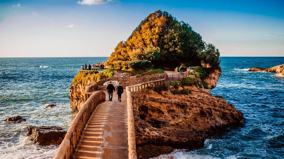 Rochedo da Virgem em Biarritz