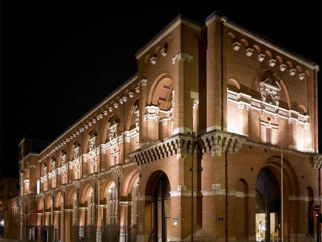 Museu des Augustins em Toulouse de noite