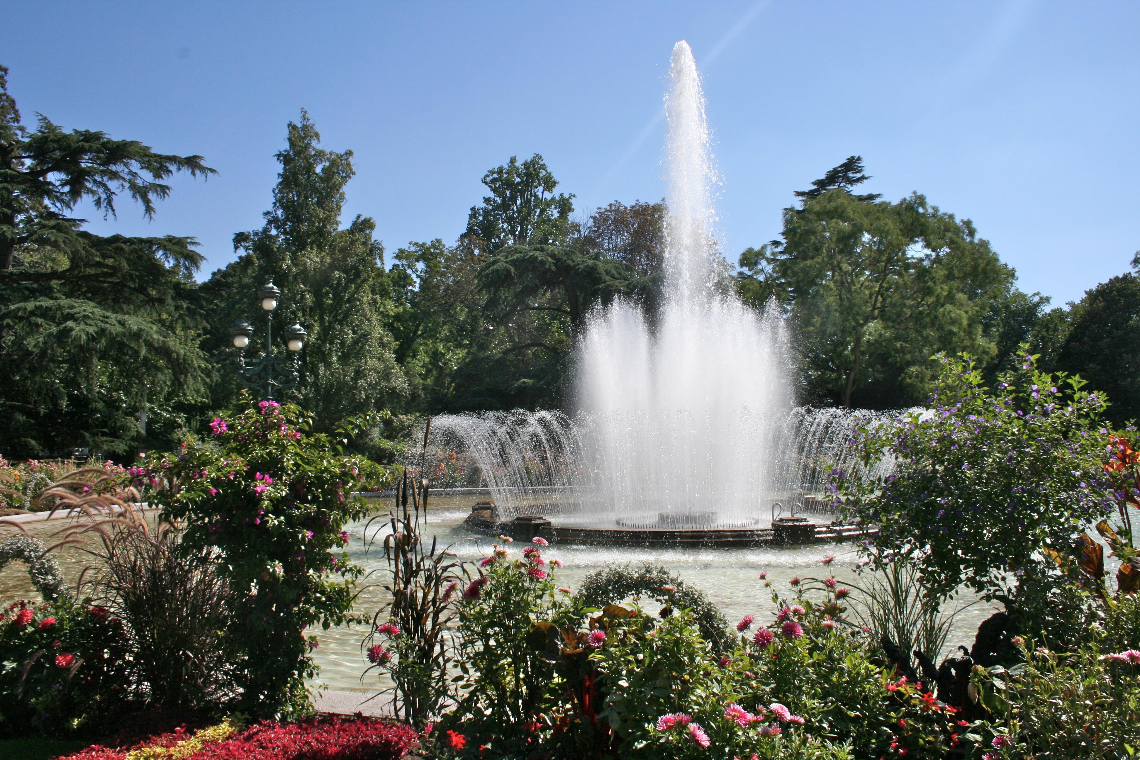 Jardin des Plantes em Toulouse