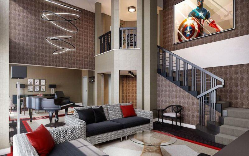Hotel The Art of Marvel